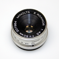 Minota E-Rokkor 50mm/f4.5 Enlarging Lens%2