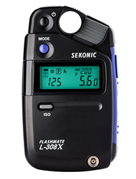 Sekonic L-308X Light Meter