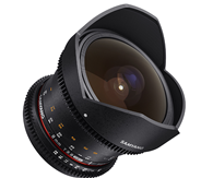 Samyang 8mm T3.8 VDSLR UMC Fisheye CS%