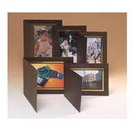 Kenro Photo Folder brown 9x6 portrait