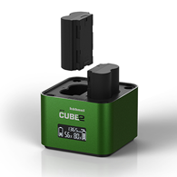 Hahnel ProCube 2 Twin Charger for Fuji