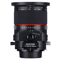 Samyang 24mm f3.5 Tilt-Shift Canon