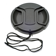 Clip-on Lens Cap with Centre Grip