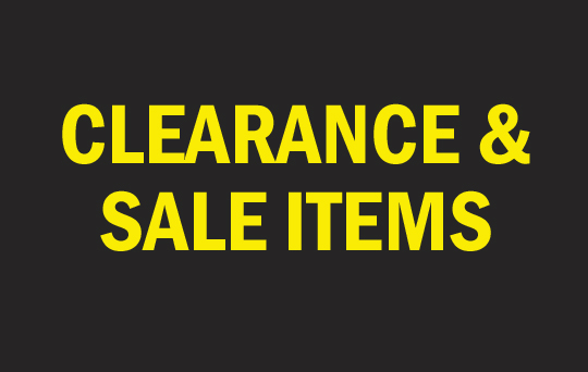 Photographic accessories at low clearance prices