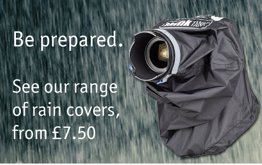 Camera raincovers from £7.50