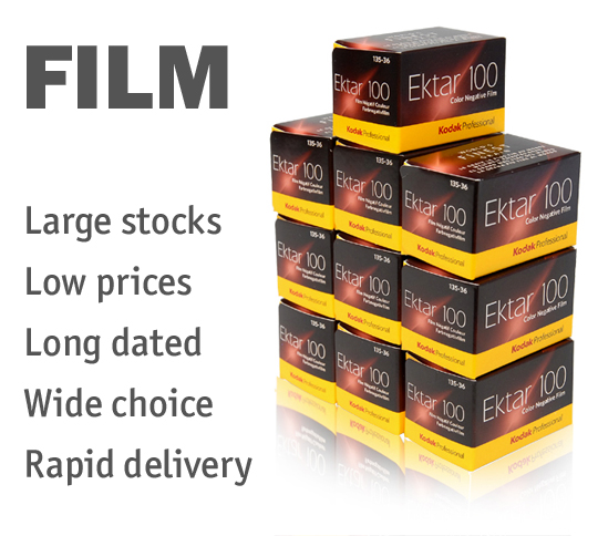 Huge range of photo films at low prices