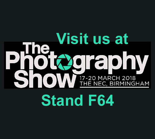 Visit us at The Photography Show