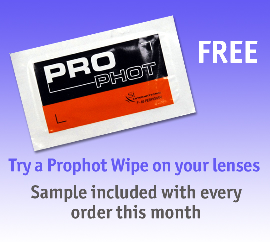 Free Prophot wipe with every order
