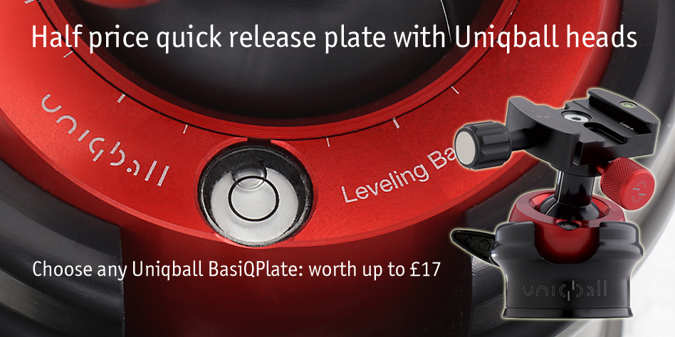 Half price plate with Uniqball heads
